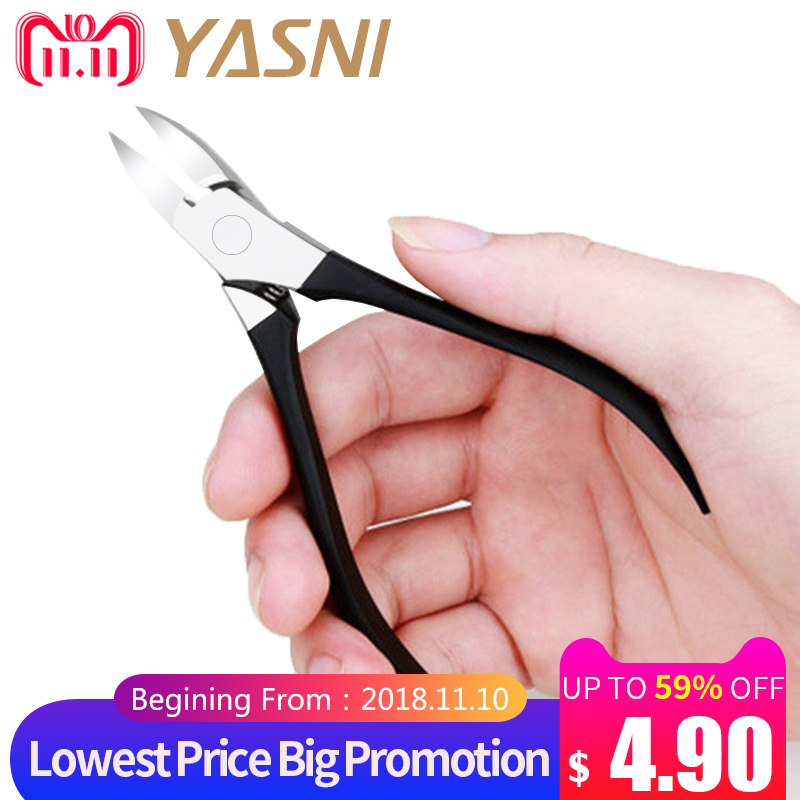 Professional Stainless Steel Manicure Nail Cuticle Nipper Scissors Nipper Clipper Pedicure Tools Pliers Nippers Cutter NT68 clavuz professional toe nail scissors stainless steel hard nail tips cuticle nipper beauty nail art manicure tool