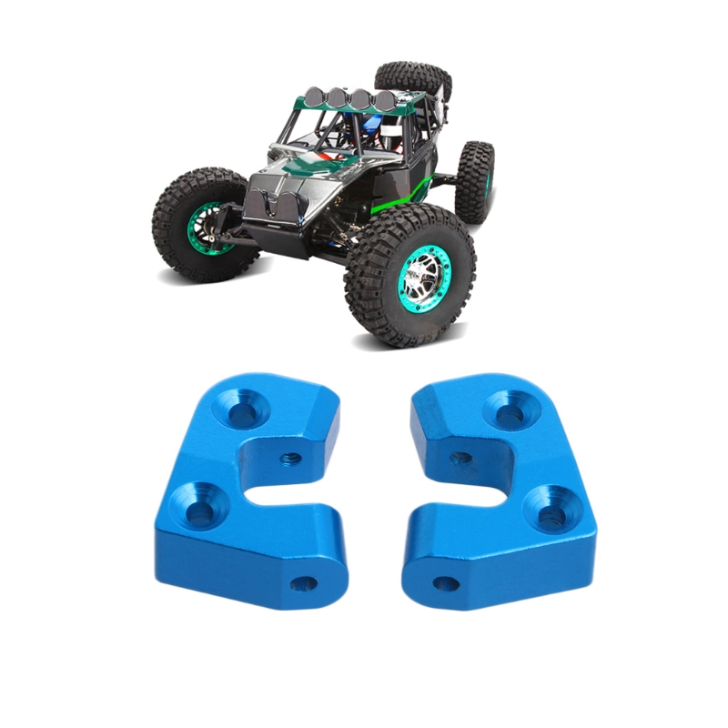 New 2Pcs Upgrade Metal Rear Axle Fixing Member R/L For Wltoys 12428 For FY-01/02/03/ RC Car