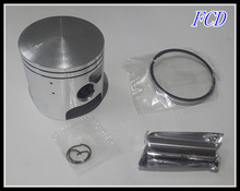 New high quality motorcycle accessories KAAWASAKI KDX200 piston ring piston diameter is 66mm The piston pin is 16mm