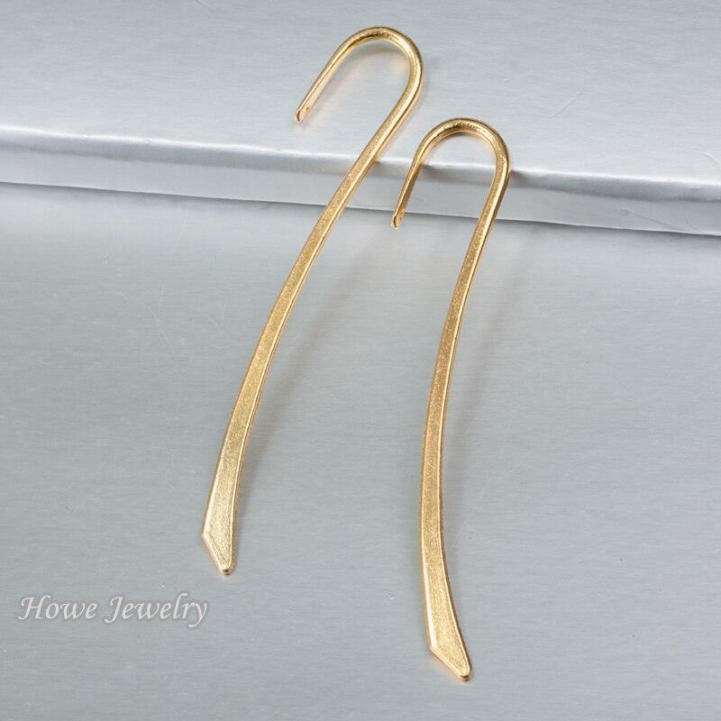 50 pcs bookmark pingente do vintage da cor do ouro liga Pingente descobertas jóias DIY Estilo Europeu C086