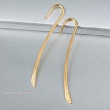 Винтажная закладка-подвеска C086, 50 шт., цвет под золото, европейский стиль, ювелирные изделия