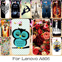 TAOYUNXI Silicone Plastic   Phone   Case For Lenovo A8 A806 A808T A808   Housing   Cover Bag Skin For Lenovo A8 A806 Case
