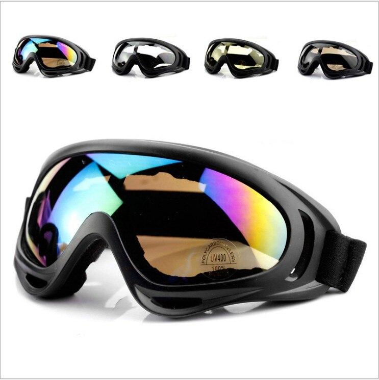 Зимние спортивные Лыжный спорт Сноуборд Снегоход очки Для мужчин Для женщин ветрозащитный пыле очки лыж скейт солнцезащитные очки UV400