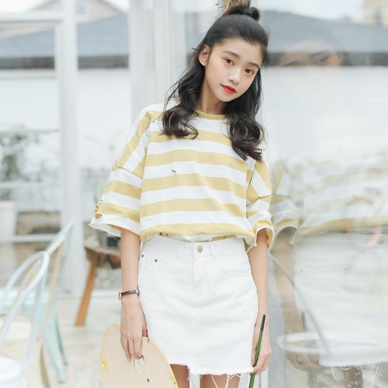 Aliexpress.com  Buy off the shoulder tops women ulzzang 2017 harajuku korean summer clothes ...