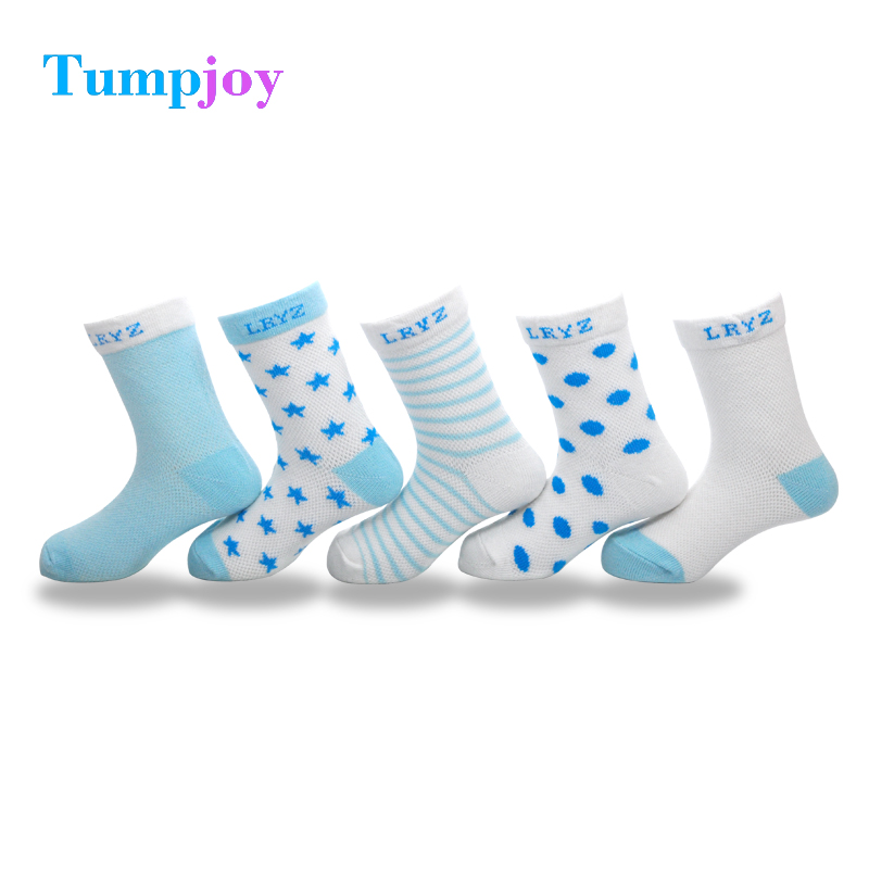 Tumpjoy Baby Socks 5 Pairs Unisex Cotton Summer Ankle Length Infant Socks for Boys Girls Mix Colors Infant Cute Short Warm Socks fishnet ankle socks