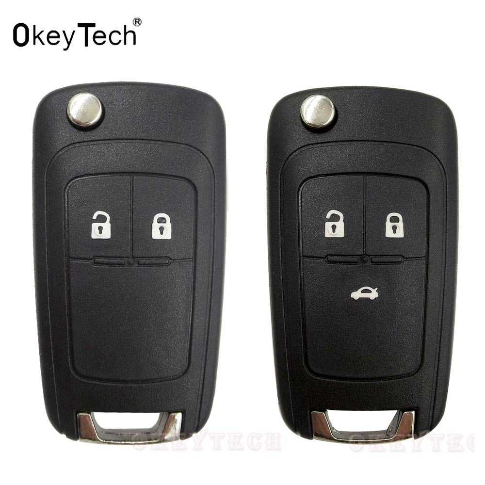 Flip key Folding Remote 2 3 Button Car Key Fob Shell Case For opel Chevrolet Vauxhall astra h j insignia g vectra c mokka zafira keyyou 3 button car key remote case shell fob for opel vectra astra with key blade