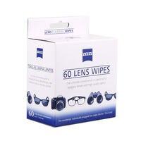 60 conteggi ZEISS dslr kit di pulizia panno di pulizia lenti a cristalli liquidi di pulizia salviette umidificate per occhiali privo di lanugine tovaglioli