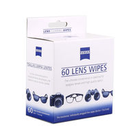 Sale Factory Direct Suply Wholesale Price 60 Counts ZEISS Cleaning Wipes Lcd