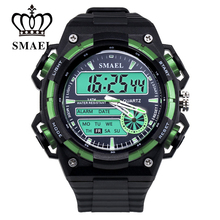Men Watches Military Army Digital Sport Watch Casual LED Clock S Shock Watch Men's Wristwatch  montre homme Shark Watch WS1438