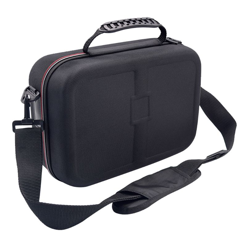Image 3 - Black Big Capacity Hard Shell Storage Bag Case For Nintend Switch Console and Nitendo Switch Accessories with Handle and StrapBags   -
