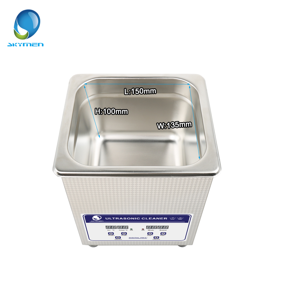 Image 3 - SKYMEN Digital Ultrasonic Cleaner Bath 2l ultrasonic cleaner 60W 110/220V pcb cleaner golf ball washer-in Ultrasonic Cleaners from Home Appliances