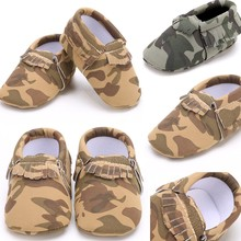 2016 New Arrival Real Fringe Elastic Band Geometric Baby Soft Sole Shoes Infant Tassel Boy Girl Toddler Moccasin First Walkers