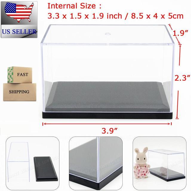 Akryl Box odoria nas akryl box gablocie 3.3 cal 8.5 cm l pleksi pyłoszczelna