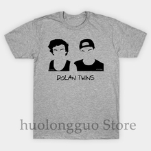 1314c9526 Funny Printed Men T shirt O-neck tshirts dolan twins Women cotton T-Shirt