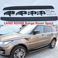 Для LAND ROVER Range Rover Sport 2014 2015 2016 2017 2018 кроссовки Панели шаг в сторону бар педали Высокое качество автомобильные аксессуары