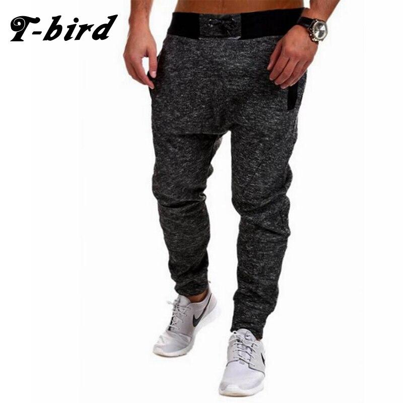 T-bird 2017 New Fashion Joggers Men Brand Snowflake Cloth Sweatpants Male Compression Pants Casual Tactical Pants Mens Calabasas