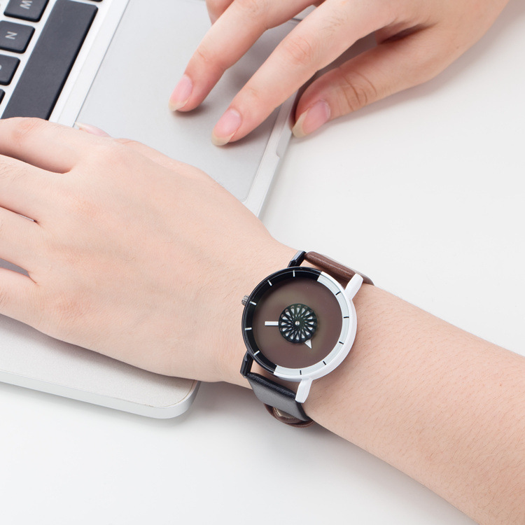 Fashion Female Wristwatch Leather Watchband Business Watches Waterproof Scratch-resistant Watch Clock