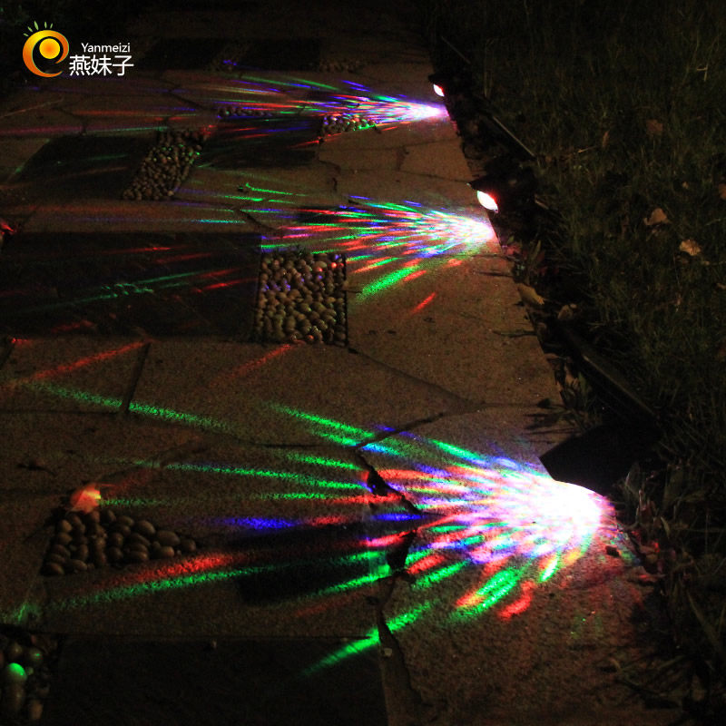 Solar LED lamps spotlight for Outdoor Party Garden Swimming pool Outdoor Party Shinning lamps