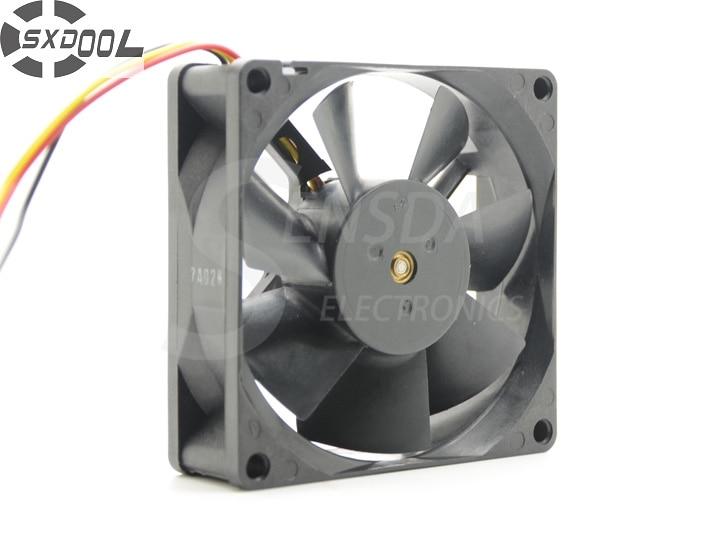 цена на SXDOOL G8025S12B2 For HLT5076 HLT5676 HLT6176 HLS4676 HLT5087 HLR6167 8025 12V 0.120A quiet silent cooling fan