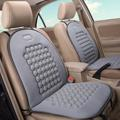 Universal Car Seat Covers Cushion Therapy Massage Padded Bubble Foam Chair Seat Comfortable Pad Cover Beige Grey