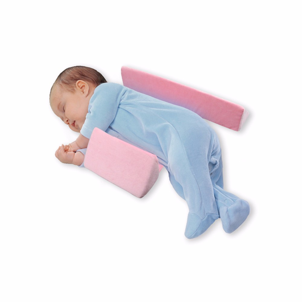 Adjustable Sleep Positioner Anti Roll Pillow And Anti Flat Head Baby Positioning Pad 8