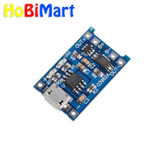 5PCS 5V 1A Micro USB 18650 Lithium Battery Charging Board Charger Module+Protection Dual Functions TP4056 #Hbm0287