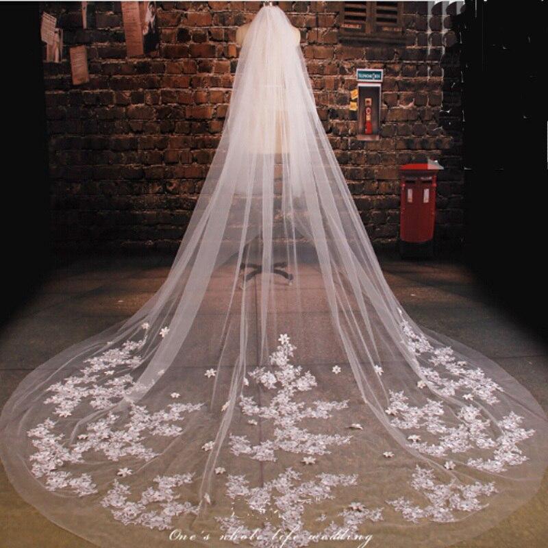 Crystal Wedding Veils