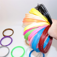 1 75mm 3D Pen Plastic PLA Plastic For 3D Pen Different Color 25 20 15 10