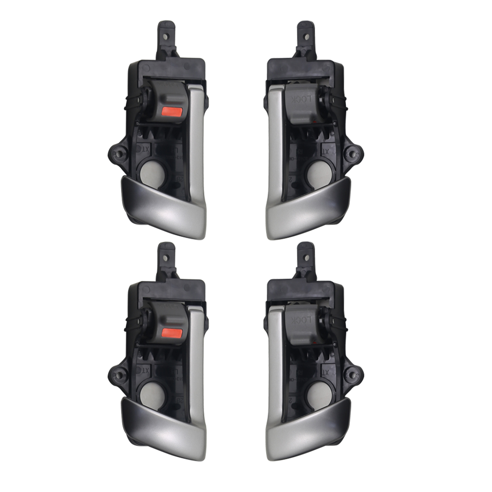 4pcs one set Interior <font><b>Door</b></font> <font><b>Handle</b></font> for <font><b>Hyundai</b></font> <font><b>SantaFe</b></font> 07-12 RH; LH (Front=Rear) G:All Gray FR:82620-2B000-J4 image