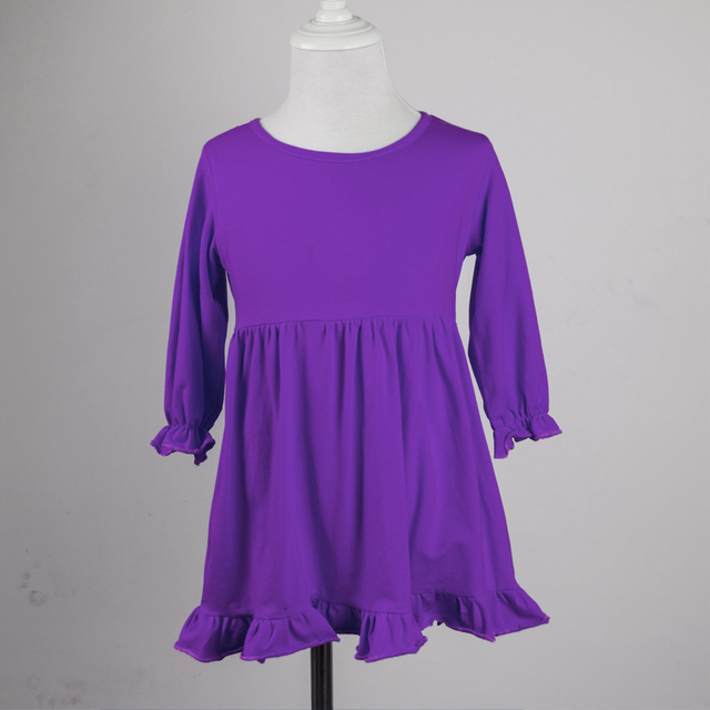 d6880e8d4ced Solid color baby frock design pictures toddler girl dresses ready ...