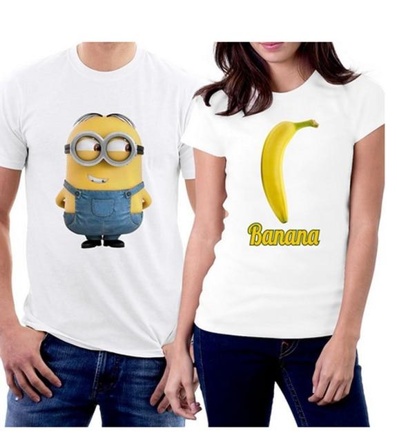 2a35a062c3dab Casal Correspondência Camisetas O Marido E A Esposa Casal camisa nova  Boyfirned e Namorada Amante Camisa