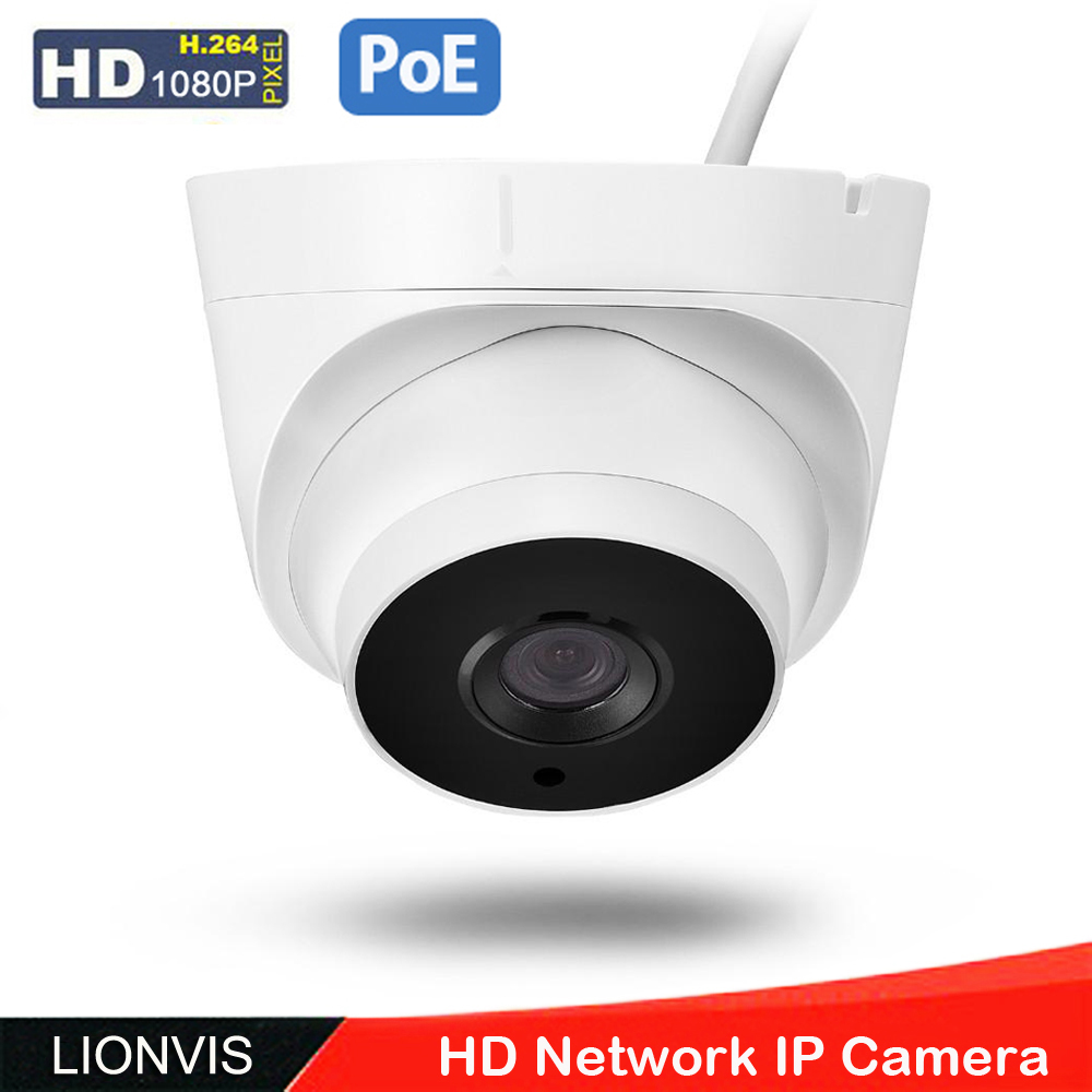 ФОТО 48V POE IP Network Camera 1080P ONVIF 3 Array Led  Day Night Vision CCTV Security Camera  Support POE