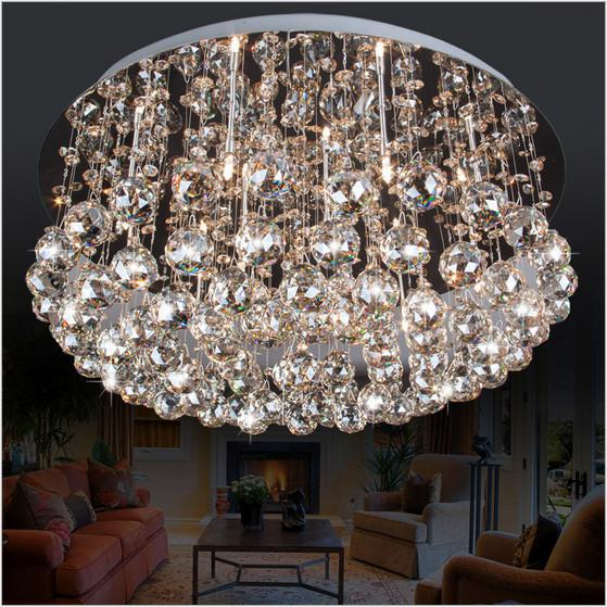 Modern K9 Crystal LED Ceiling Light Crystal Light for Living Room Lights Bedroom Lights free shipping