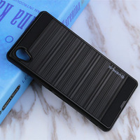Luxury Dual Hybrid Brushed Hard Back PC Cover Silicone TPU Case Shockproof Mobile Phones Protective Skin