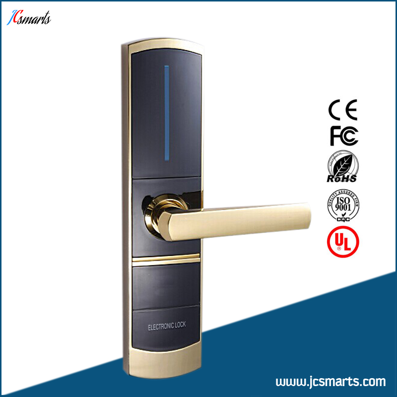 China hotel card lock suppliers keyless hotel door locks with good quality china manufacture hotel card reader locks rfid hotel door lock system