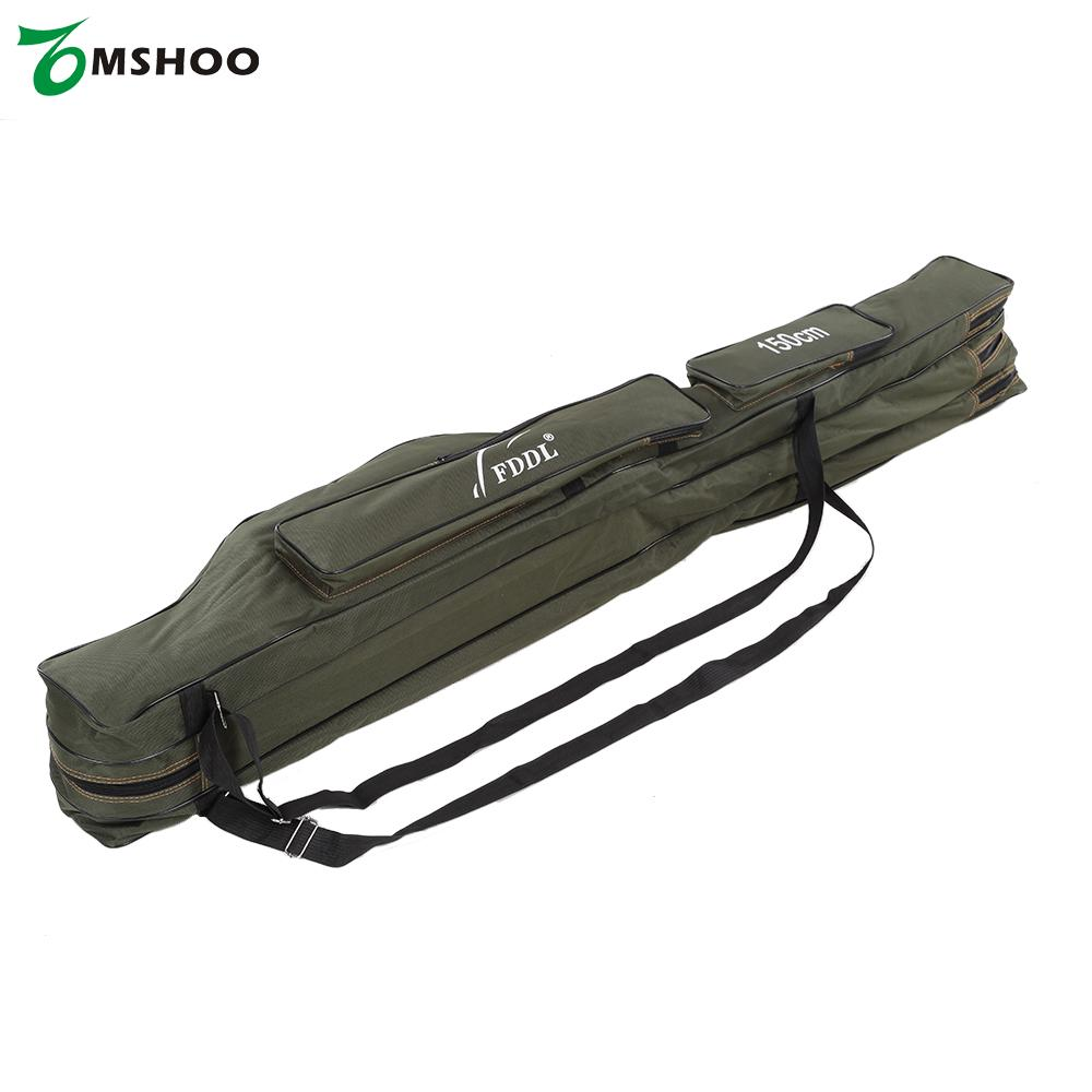 Online buy wholesale rod bag from china rod bag for Fishing rod tote
