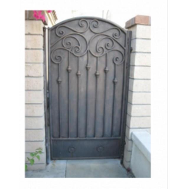 Malla de metal desplegado para puertas casa metal puerta PUERTAS DE ...