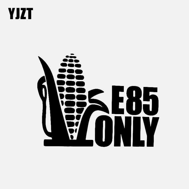 YJZT 15 2 см * 11 7 E85 только Наклейка виниловая Автомобильная наклейка топливо Гонки