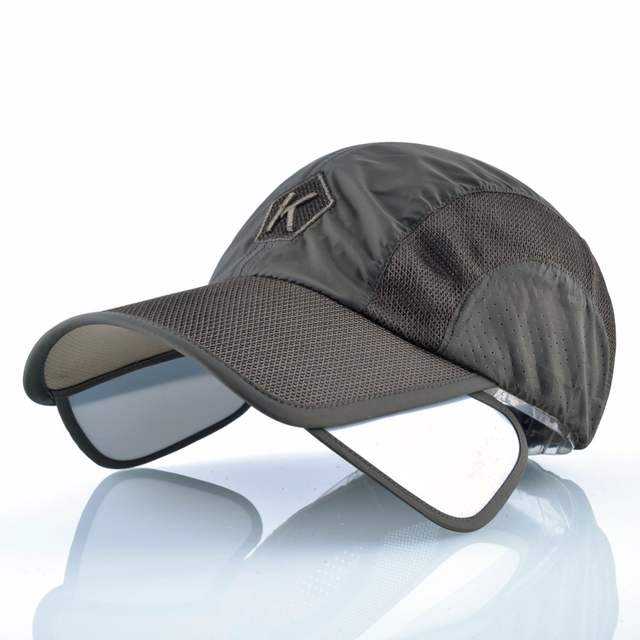 baf79a8eb97 Online Shop Multifunction hats for men Quick-drying Snapback caps Wide- brimmed sun visor hat women s baseball cap man Breathable mesh bone