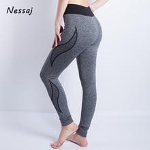 Nessaj High Quality High Waist Plus Size Push Up Pants Elastic Leggings Women Sexy Bodybuilding Jegging Comfortable Leggings
