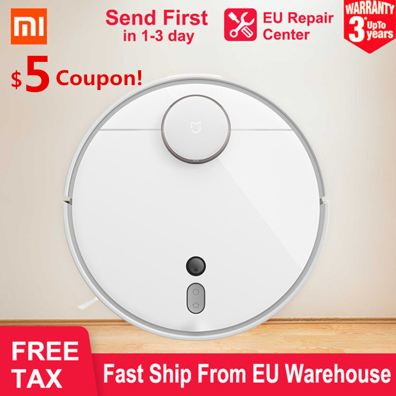 NEW 2019 XIAOMI MI Robot Vacuum Cleaner 1s Smart Planned Cleaning LDS AI Location Auto Charge