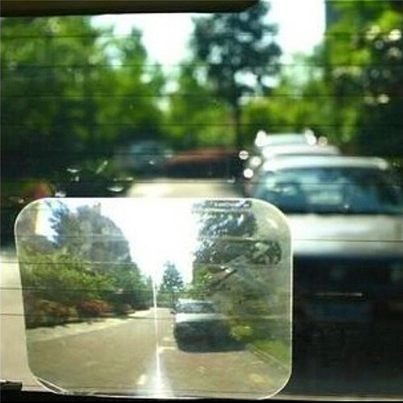 Auto Wide Angle Fresnel Lens Car Parking Reversing Stickers Rear Windshield Window Useful Enlarge Fresnel Lens Car Sticker doumoo 330 330 mm long focal length 2000 mm fresnel lens for solar energy collection plastic optical fresnel lens pmma material