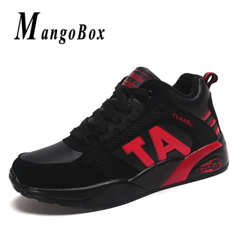 New Athletic Running Shoes Couples Red White Jogging Sneakers Comfortable Gym Sneakers for Men Rubber Bottom Women Sports Shoes