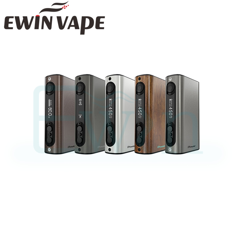 Original Eleaf iPower TC 80W Box Mod with 5000mah Battery with new firmware font b Smart
