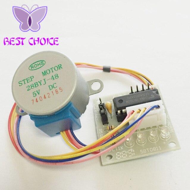 5set 5V 4-Phase 28BYJ-48 DC Gear Step 1PCS Stepper Motor + 1PCS ULN2003 Driver Board ULN2003 For Arduino PIC MCU DIY