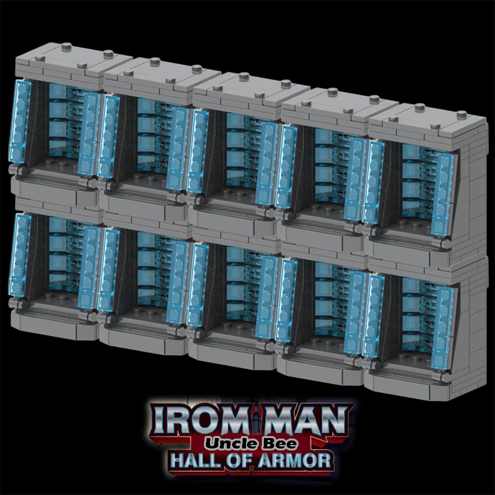 Iron Man Building Blocks Hall of Armor Marvel Endgame