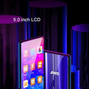Image 3 - JWD ses çalar bluetooth mp3 5.0 inç dokunmatik ekran dahili hoparlör ile FM radyo/kayıt taşınabilir ince kayıpsız Video