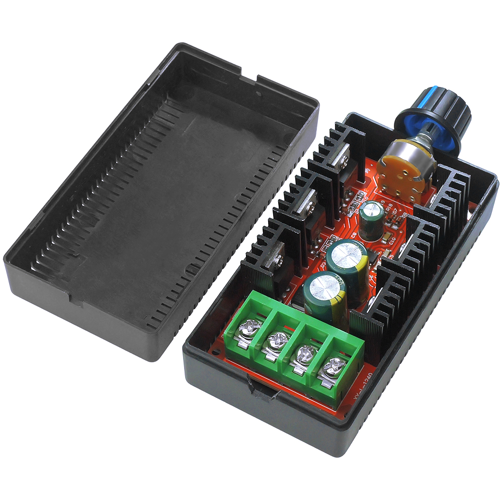 12V 24V 48V 2000W MAX 10-50V 40A DC Controlador de Velocidade Do Motor de Controle PWM HHO RC Controlador de usar para as pessoas DIY, hobby, scientic teste