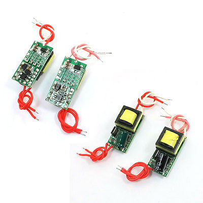 4pcs <font><b>AC</b></font> 85-265V DC <font><b>17V</b></font> (4-7)x1W LED E27 Power Supply Driver <font><b>Adapter</b></font> image