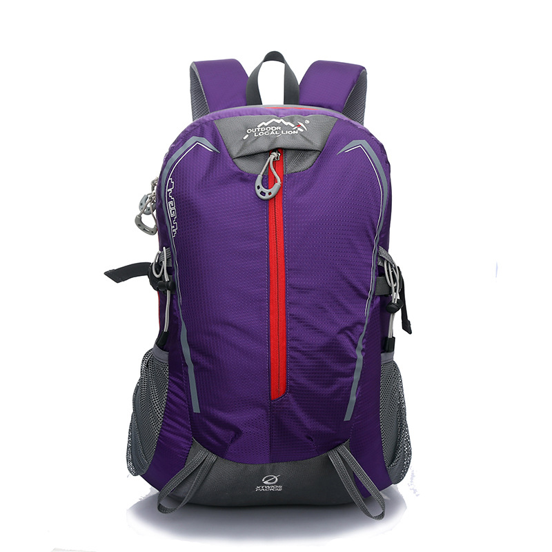 LOCAL LION 40L Ultralight Waterproof Polyester Breathable Anti - skid Women Backpack casual travel bag Fashion School travel bag